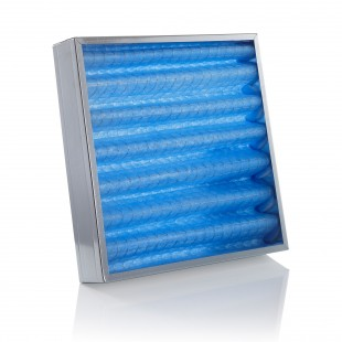 FOS Synthetic pleated filter thickness 98mm per SQM
